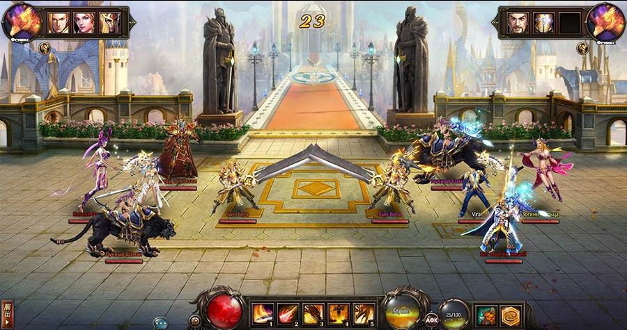 Драгон Кнайт онлайн браузерная игра